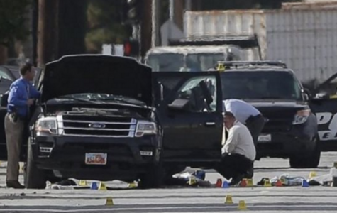 Aftermath in San Bernardino California