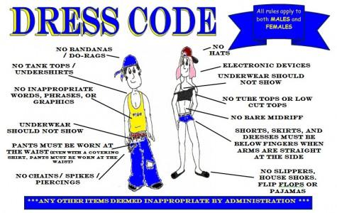 April Fools: Fees for dress code violations