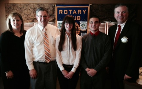 Chardon represents at Rotary four Way Speech Contest