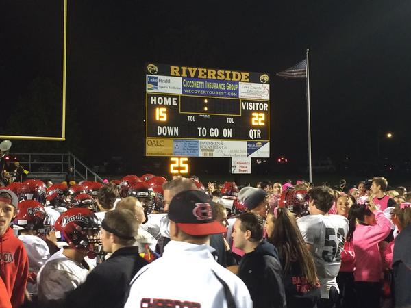 Football Team Picks Up Huge Win