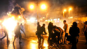 Violent Protests Divide the Nation