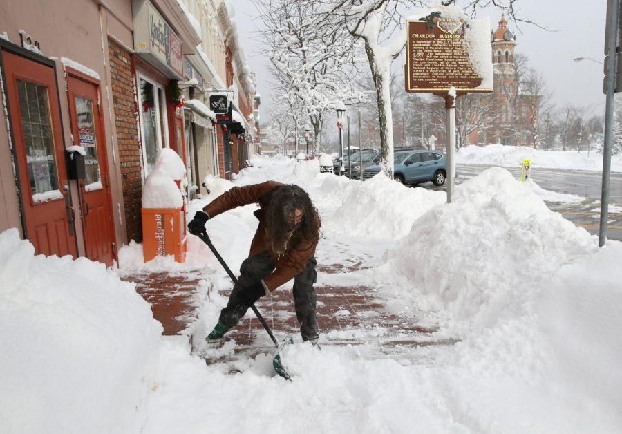 Snow Days Begin to Mount Pressure on School District