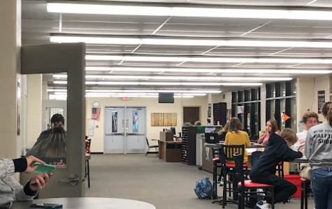 The library may be getting more crowded as more and more students aren't allowed to escape.