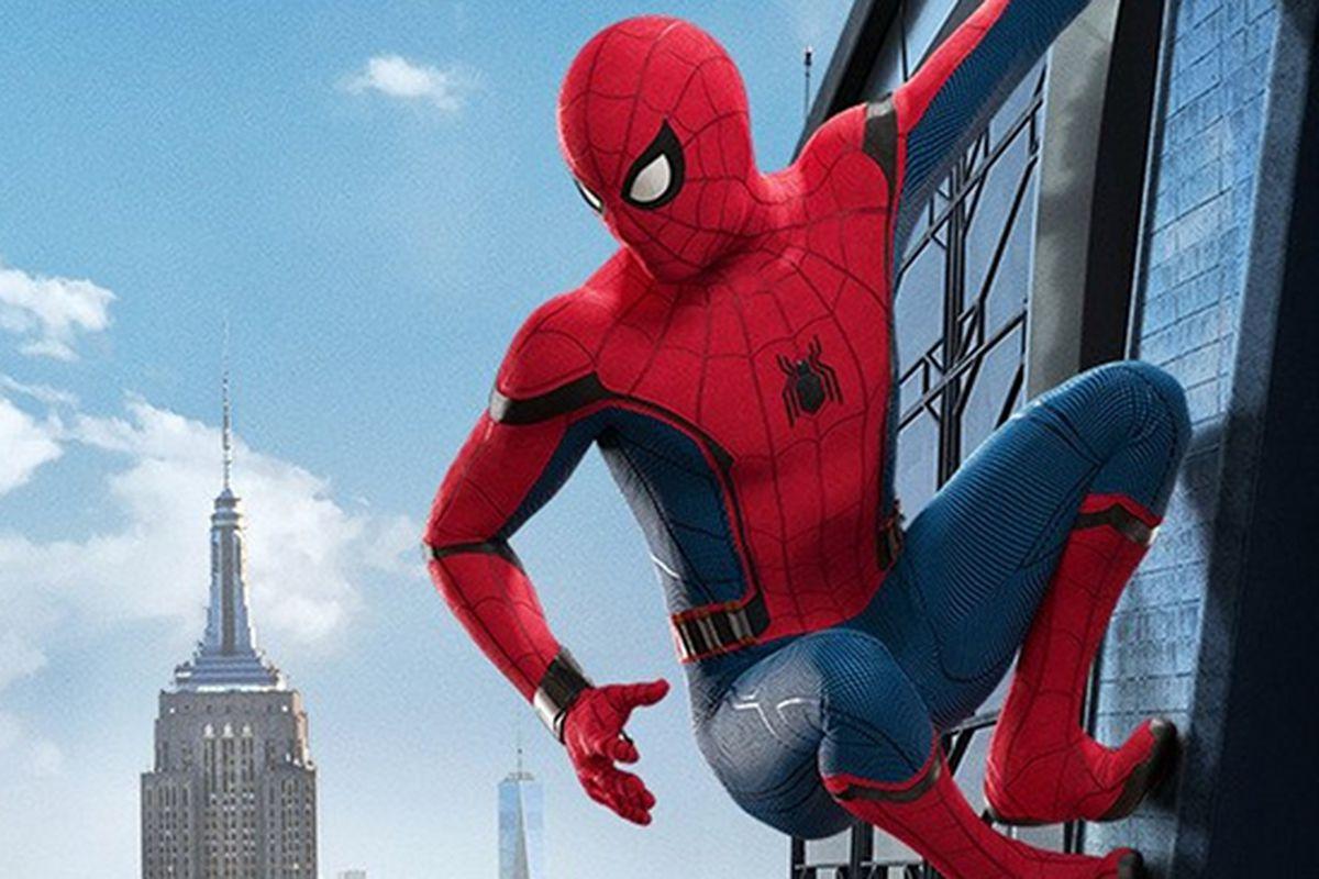 Spiderman contemplates his uncertain future.