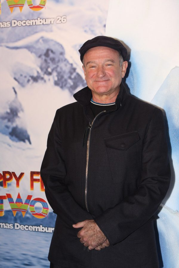 The late and great Robin Williams at the Happy Feet Two Premiere.