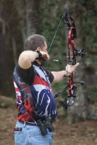 Jerry Zamrzla competes in IBO in North Carolina.